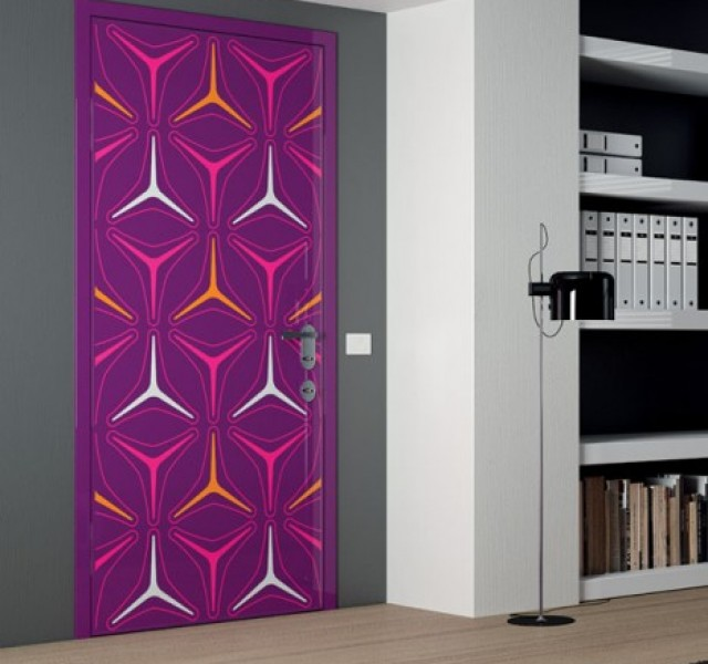 Fuschia-Orange-Door-design-by-Karim-Rashid
