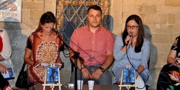 """Промоција на збирката песни """"Ѕвезди што спијат"""" од Михајло Свидерски"""
