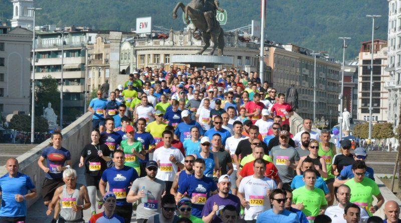 Виз Ер Скопски маратон чекор напред во воведување иновативни технологии во регионот
