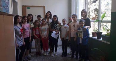 Промоција на стихови – поезија од младата поетеса и писателка Викторија Петровска пред најмладите љубители