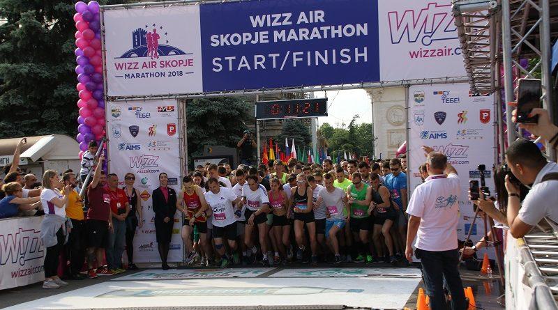 Завршија полумаратонот и трката на 5км на Виз Ер Скопски маратон