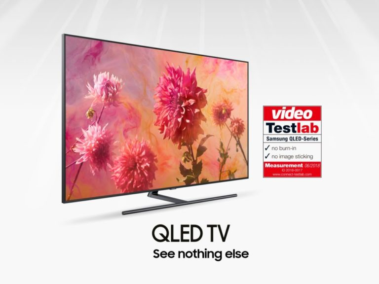 Samsung QLED TV certified by connect Testlab_01