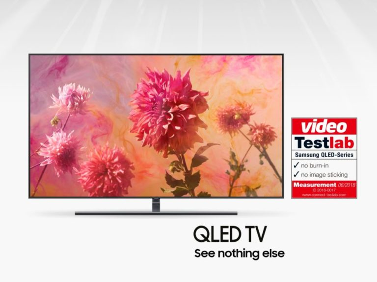 Samsung QLED TV certified by connect Testlab_02